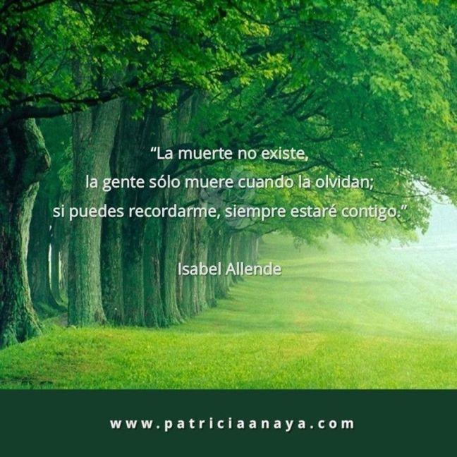 18-1005 Duelo-Muerte La muerte no existe Isabel Allende