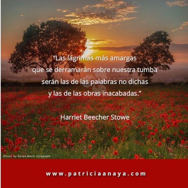 18-1007 Duelo-Muerte Arrepentimiento Harriet Beecher Stowe