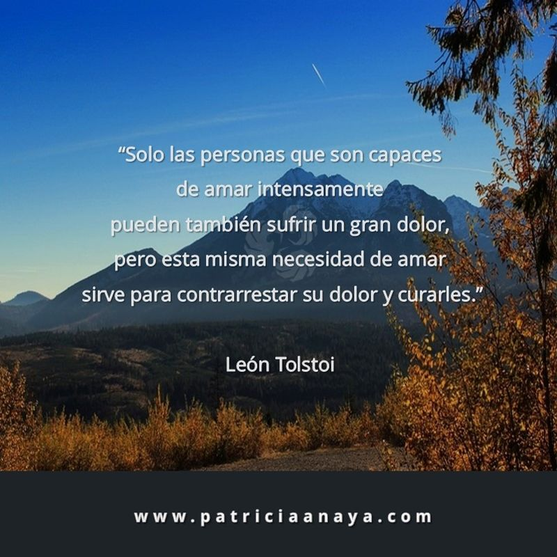 El Amor Sana El Dolor León Tolstoi