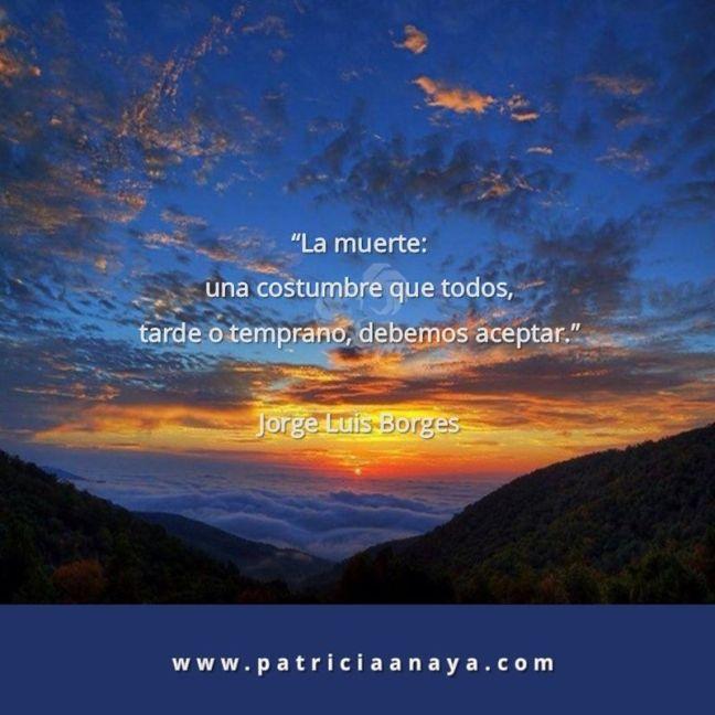 18-1013 Duelo-Muerte La muerte Jorge Luis Borges