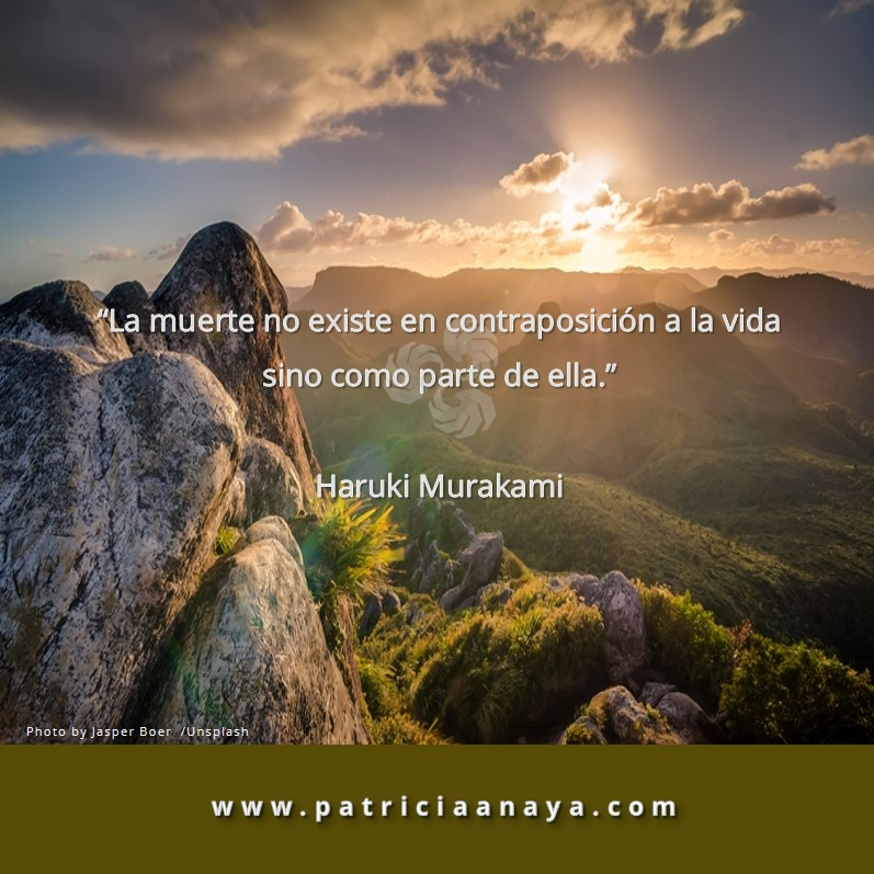 18-1019 Duelo-Muerte La Muerte es parte de la Vida Haruki Murakami