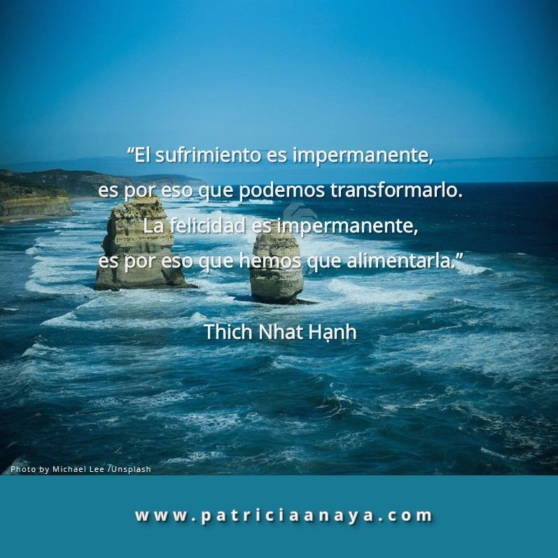 Impermanencia Thich Nhat Hanh