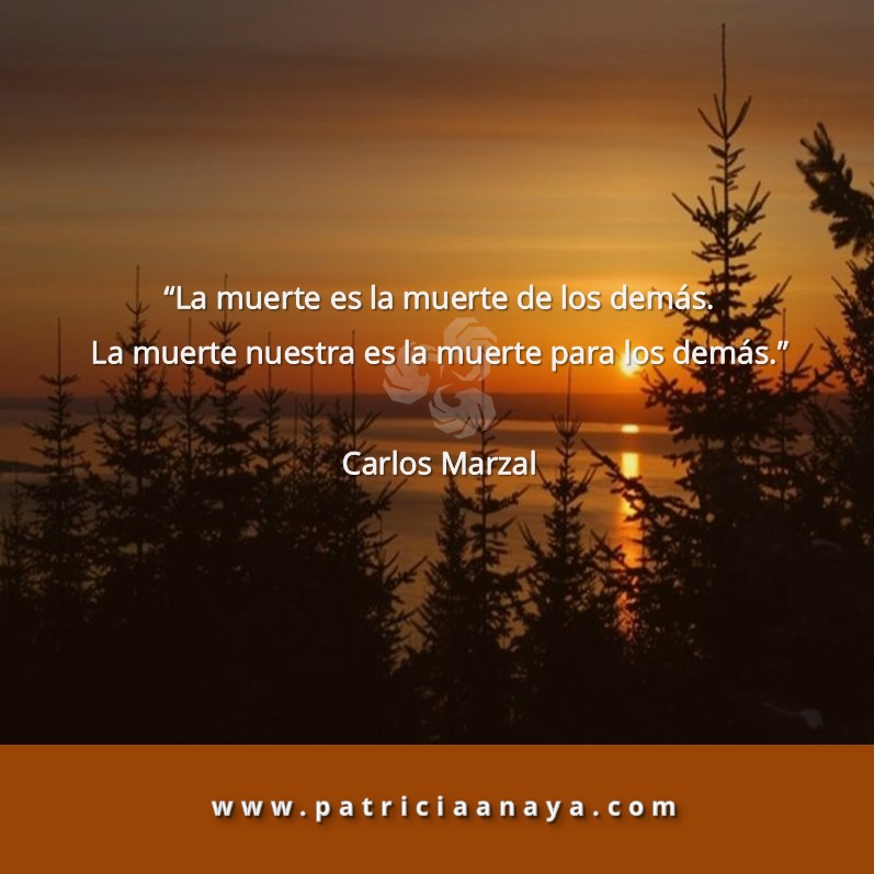 LA MUERTE     Carlos Marzal